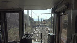 [前面展望]JR西日本阪和線 紀州路快速/日根野-和歌山 (223系0代) [cab view]JR-WEST Hanwa Line Kishuji Rapid / Hineno - Wakayama