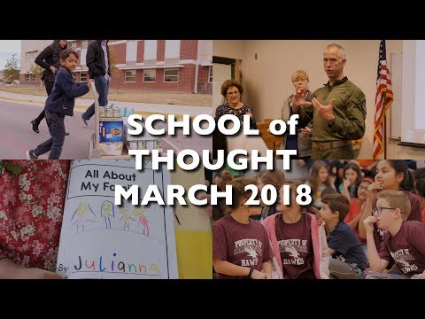 Round Rock ISD's School Of Thought:  March 2018