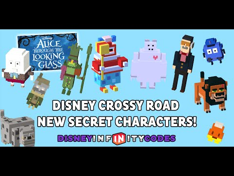 Disney Crossy Road Cars  Secret Characters