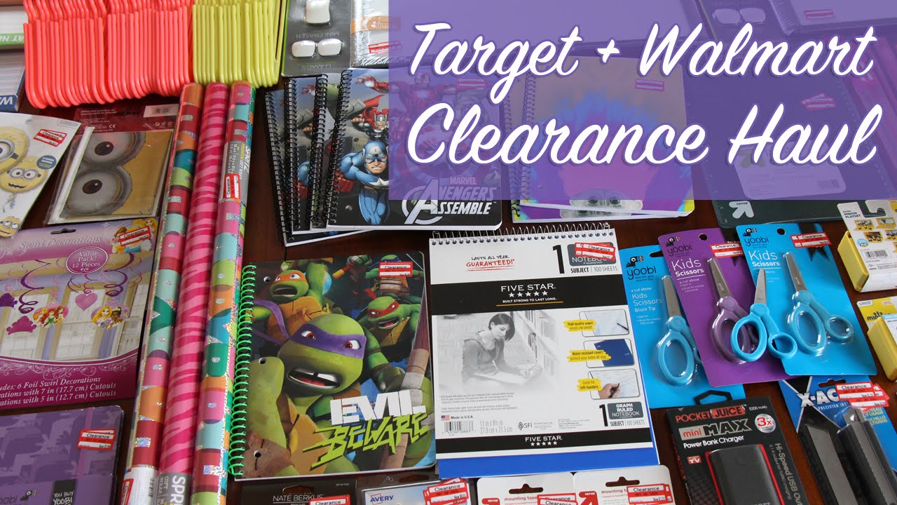 Huge Target Clearance Haul PLUS a Walmart Haul and New Kitchen ...