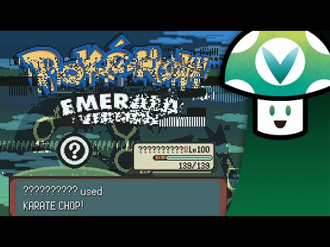 Corrupted Pokemon Emerald is a Carnival of F*cked Up