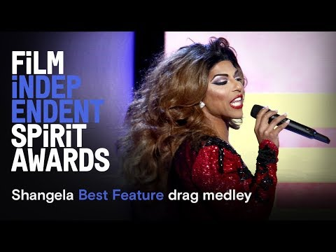SHANGELA - Spirit Award Best Feature drag medley | 2019 Film Independent Spirit Awards
