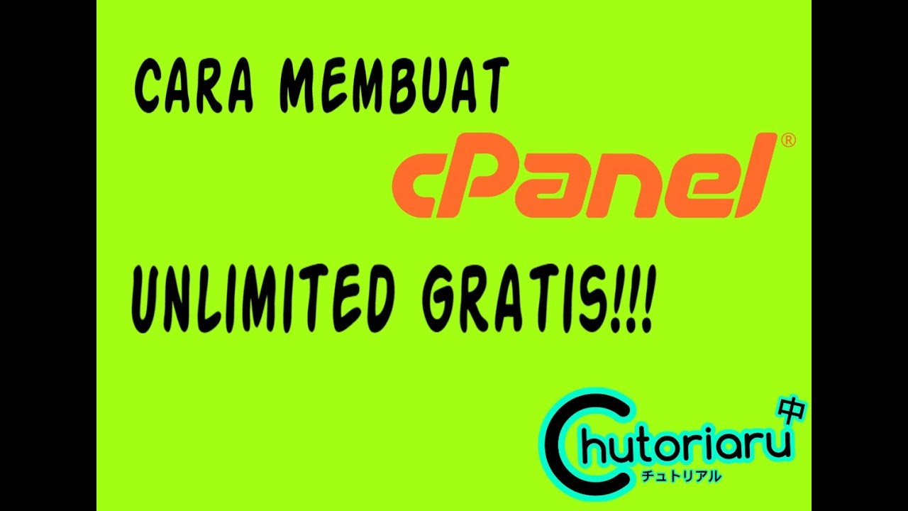 Cara membuat Cpanel Unlimited Gratis!!! | How to make Cpanel Unlimited Free !!!