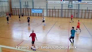 Handball. Team1 -  International mix. Rovinj handball camp. 21.06.2018