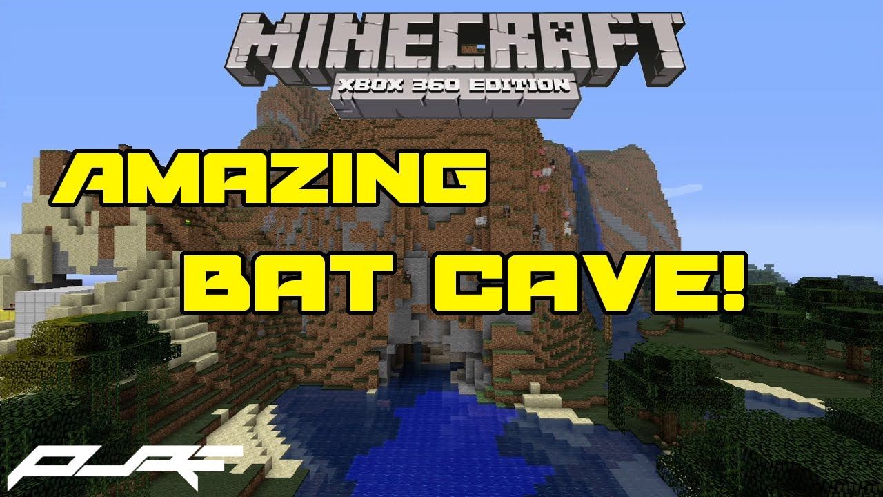 Amazing Bat Cave in Minecraft! | Map Feature Friday - YouTube