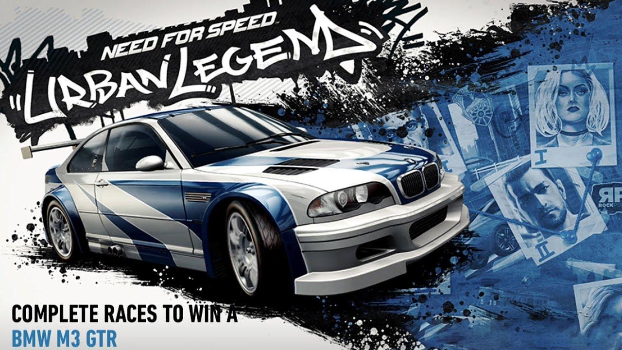 BMW M3 GTR Urban Legend Day 1 NFS No Limits Android IOS Gameplay Walkthrough