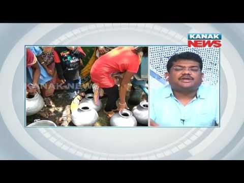 Manoranjan Mishra Live: Women Fight Over Fetching Water In Bhadrak-  Naveen Patnaik's Bhadrak Visit