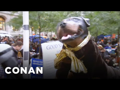 Triumph The Insult Comic @ Occupy Wall Street