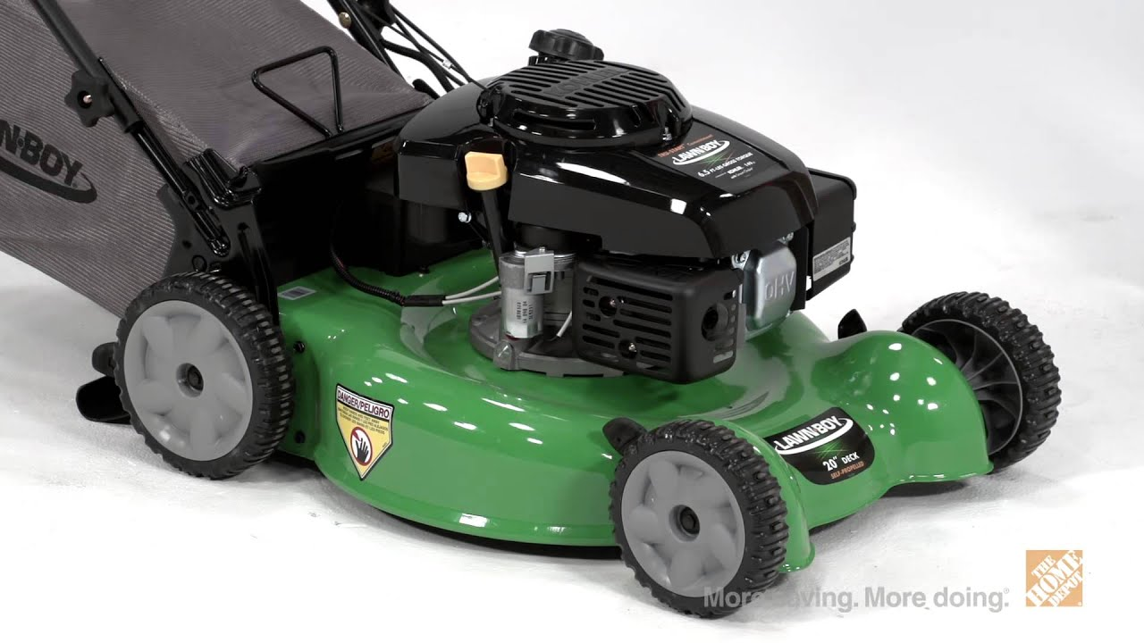 Mowers Lawn Boy 20 In Self Propelled Walk Behind Mower