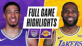 KINGS at LAKERS | FULL GAME HIGHLIGHTS | April 30, 2021