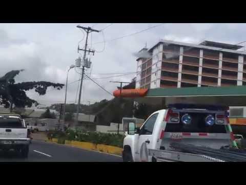 Manejando por Caracas Venezuela. Grabado con Samsung Galaxy S2