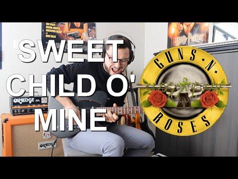 SWEET CHILD O'MINE - Guns & Roses | Guitar Solo (+ Backing Track)