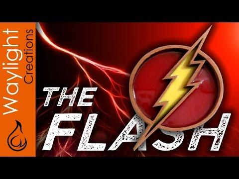 Make a Flash Symbol - SUPERHERO EMBLEM #4