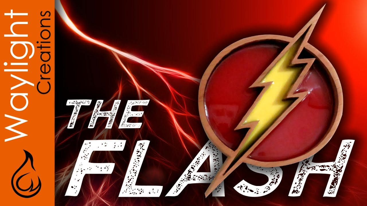 Make A Flash Symbol Superhero Emblem 4 Youtube