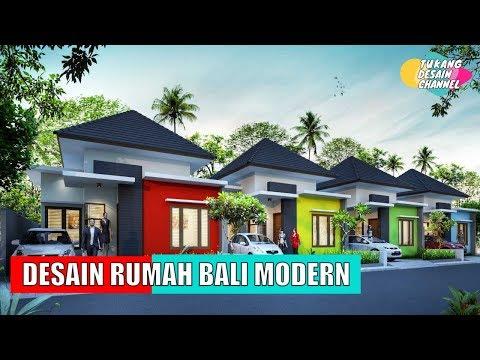 Denah + Desain Rumah Adat Bali Modern