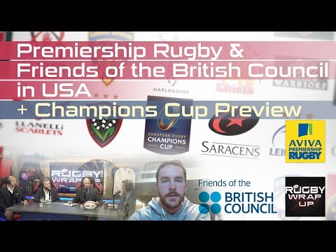 Premiership Rugby In USA & Champions Cup UPDATE