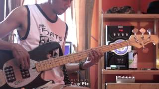 Bob Marley - Get up Stand Up (bass Cover)