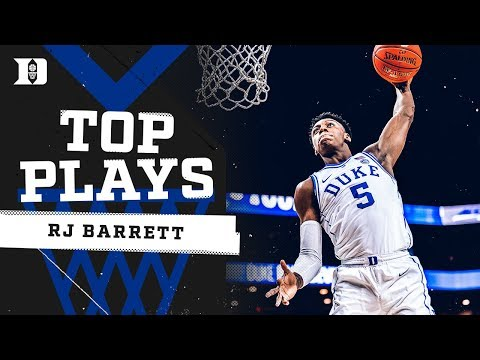 RJ Barrett: Top 10 Plays at Duke