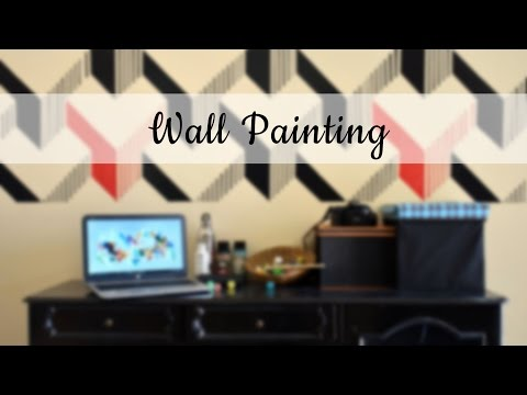 Abstract Mural Painting on Wall | Time Lapse | Sunny Purty