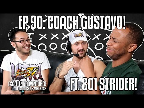 COACH GUSTAVO! The Excellent Adventures Of Gootecks & Mike Ross Ft. WFX 801 STRIDER! Ep. 90