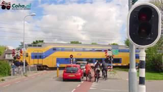 Spoorwegovergang Arnemuiden  🚂4K🚋 //Dutch railroad crossing