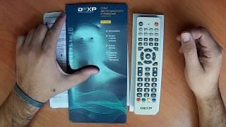 налаштування пульта, універсальний пульт DEXP DZ-498C / DEXP DZ-548 / DZL-453