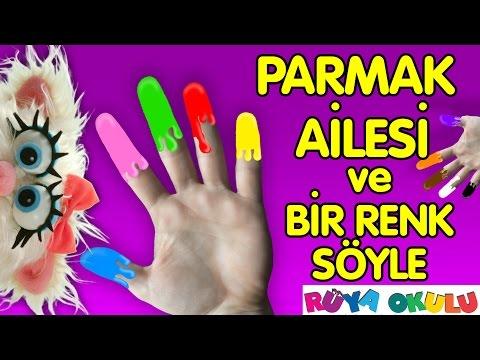 Finger Family - Parmak Ailesi - Renkler - Bir Renk Söyle - RÜYA OKULU