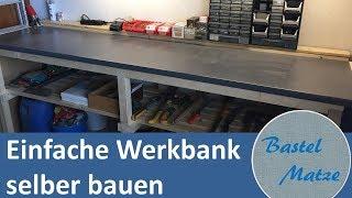 Einfache Werkbank Selber Bauen Building A Simple Workbench Youtube