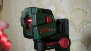 Обзор лазерного нивелира (уровня) Bosch PCL10 и крепления Bosch BM1