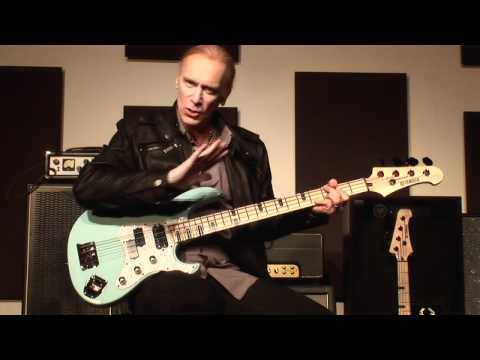 Billy Sheehan's Yamaha Attitude Limited 3: In-Depth Look of the Bass and Factory Tour Pt 1/4