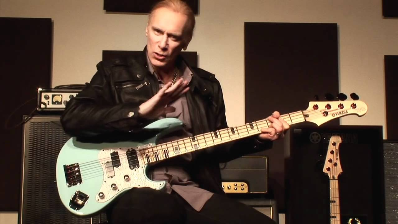 billy sheehan 39 s yamaha attitude limited 3 in depth look of the bass and factory tour pt 1 4. Black Bedroom Furniture Sets. Home Design Ideas