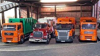 BRUDER GARBAGE TRUCKS ♦ bruder toys for children ♦ KID PLAY! Müllabfuhr