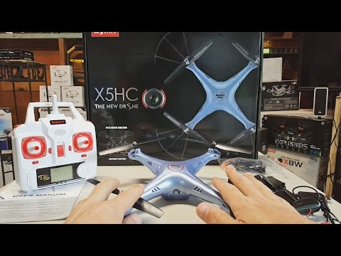 Quadcopter Review: Syma X5HC