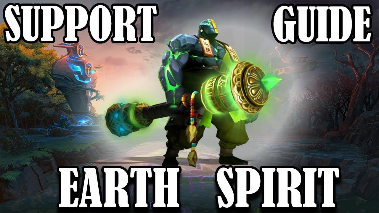 DOTA 2 – EARTH SPIRIT SUPPORT GUIDE