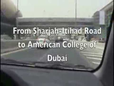 From Sharjah   American College of Dubai