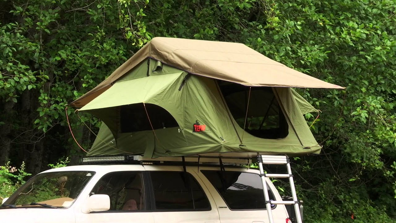Tepui Roof Top Tents | Setting Up Your Tent - YouTube