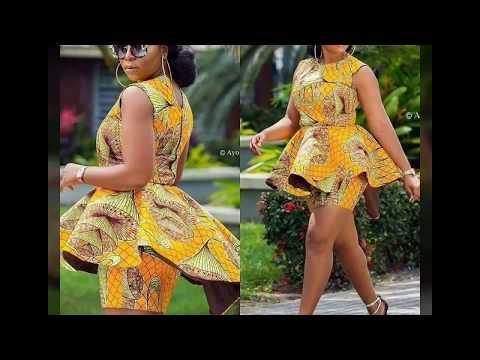 La beauté de la femme africaine en pagne