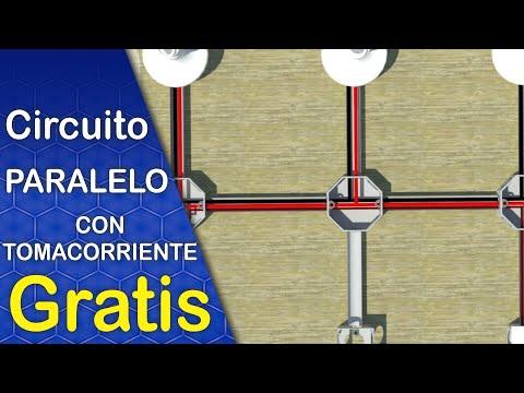 Instalaciones Eléctricas: Conexión De Circuito Paralelo Con Tomacorriente