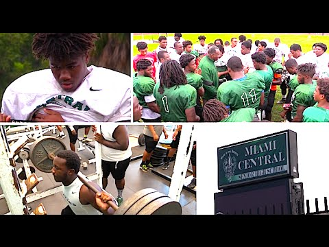 Miami Central High FL Dog Days of Summer 2016 : The Road To State