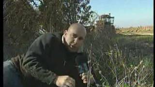 ירי בשידור חי  - Live shooting during report