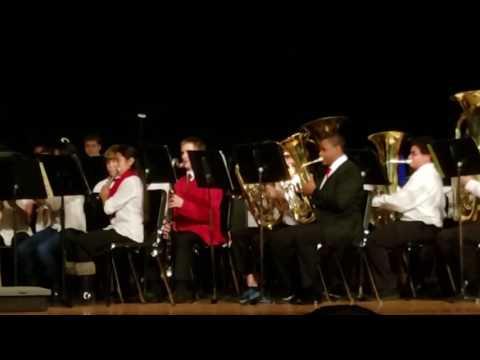 Teasley Middle School 8th grade band