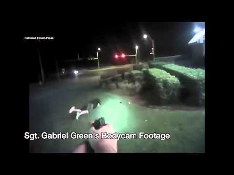 Graphic:  Police Bodycam video showing shooting of armed suspect