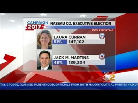 Close Race For Nassau County Executive