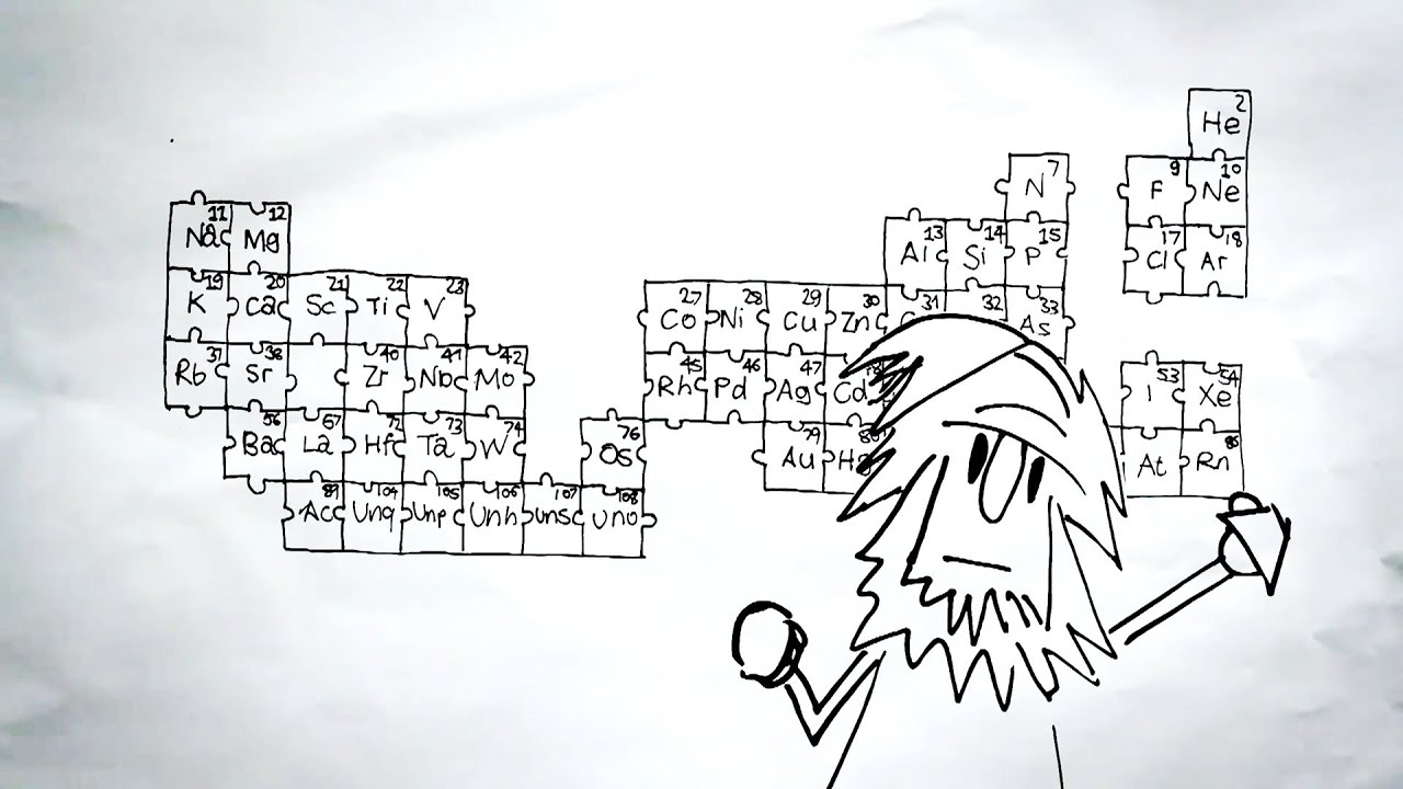 Solving the puzzle of the periodic table eric rosado youtube