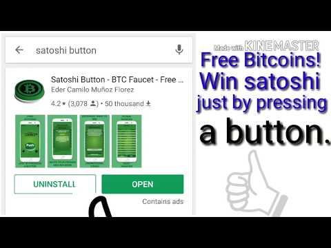 satoshi button Free Bitcoins! Win satoshi just by pressing