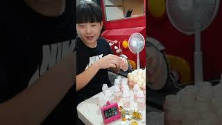 비룡중학교 1학년 허민재 요구르트 50개먹기 ^^