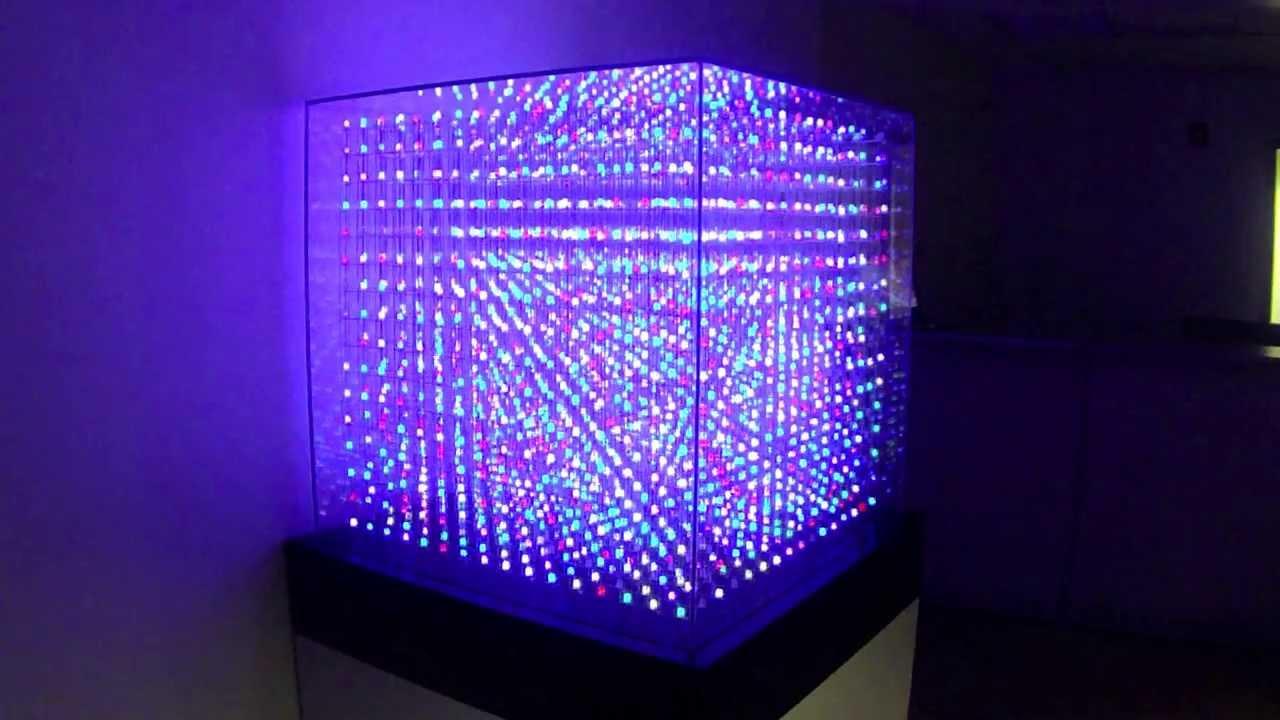 All Spark Cube Led Cube Animation 16x16x16 Youtube