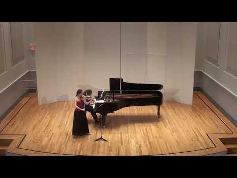Mozart Violin sonata k380