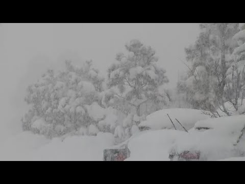 'Worst snow storm I've ever seen in Flagstaff,' resident says