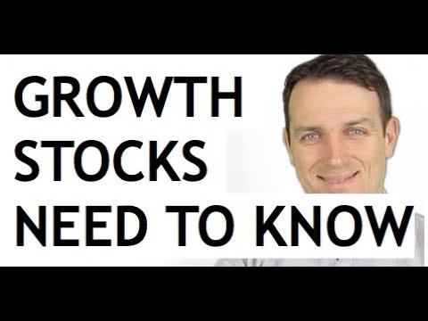 HOW TO ANALYZE GROWTH STOCKS - AMAZON EXAMPLE
